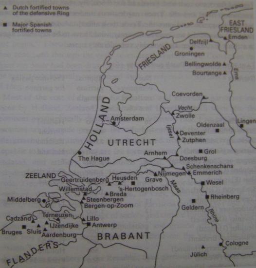 Villes fortifiées espagnoles et hollandaises