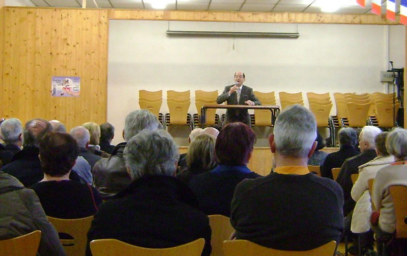 Conférence d'Alain Pigeard
