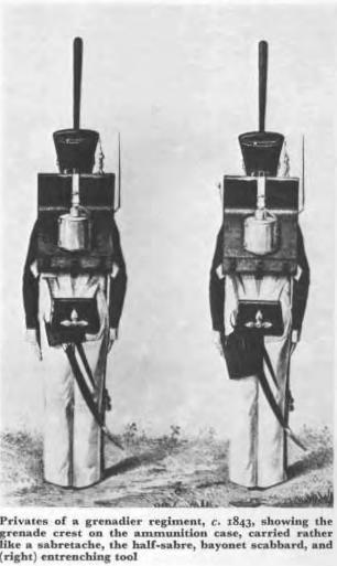 Grenadiers 1843