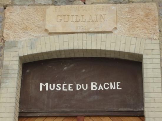 Entrée du musée du bagne.
