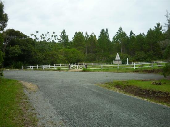 Nouvelle Calédonie, monument des déportés de la Commune.