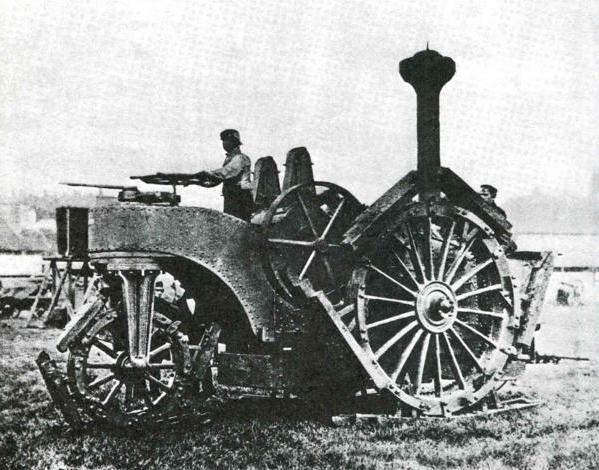Tracteur d'artillerie anglais